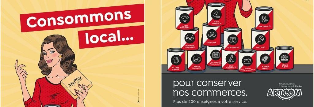 Achetez local avec Artcom