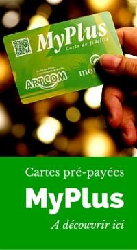 La carte pré-payée Myplus