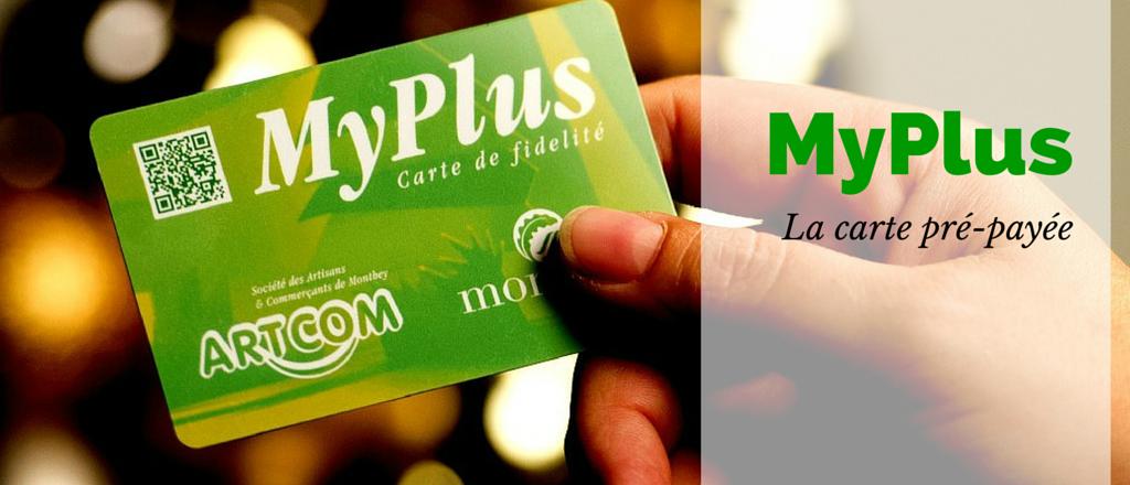 Commandez les cartes pré-payées MyPLus