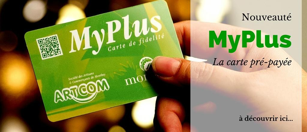 Les cartes Pré-payées MyPlus