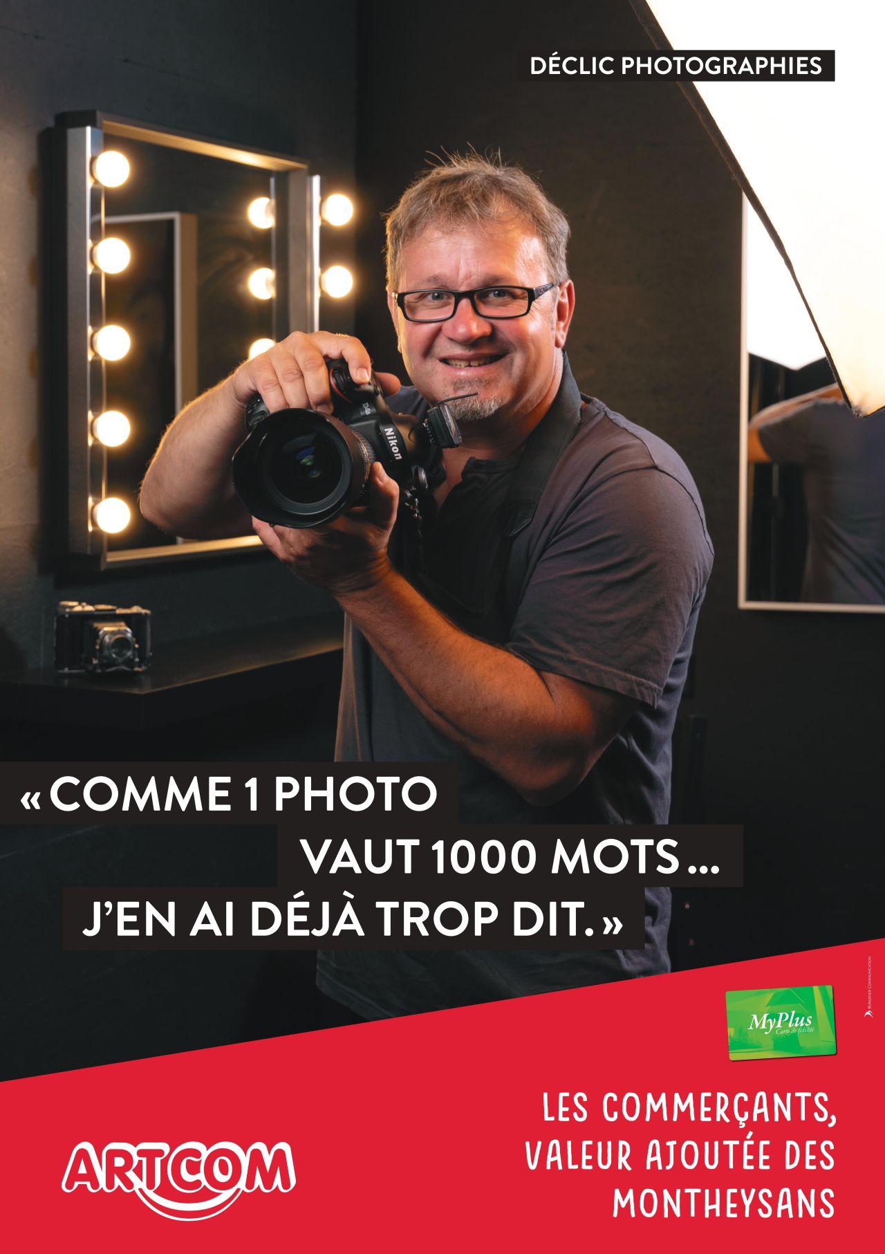Affiche Declic photographie