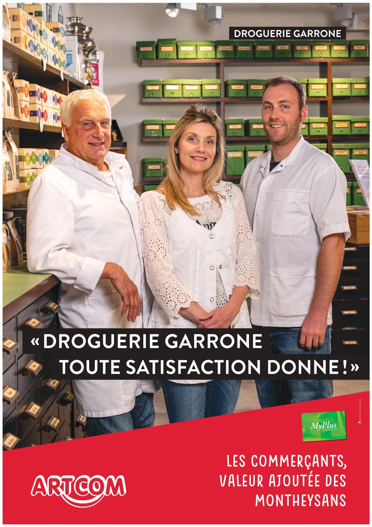Affiche Droguerie Garonne