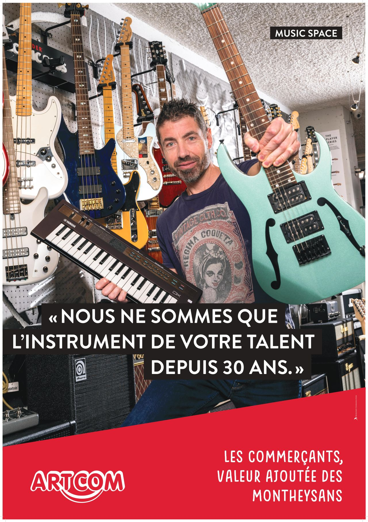 Affiche Music Space