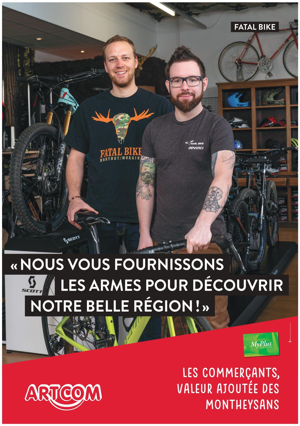 Affiche Fatal bike