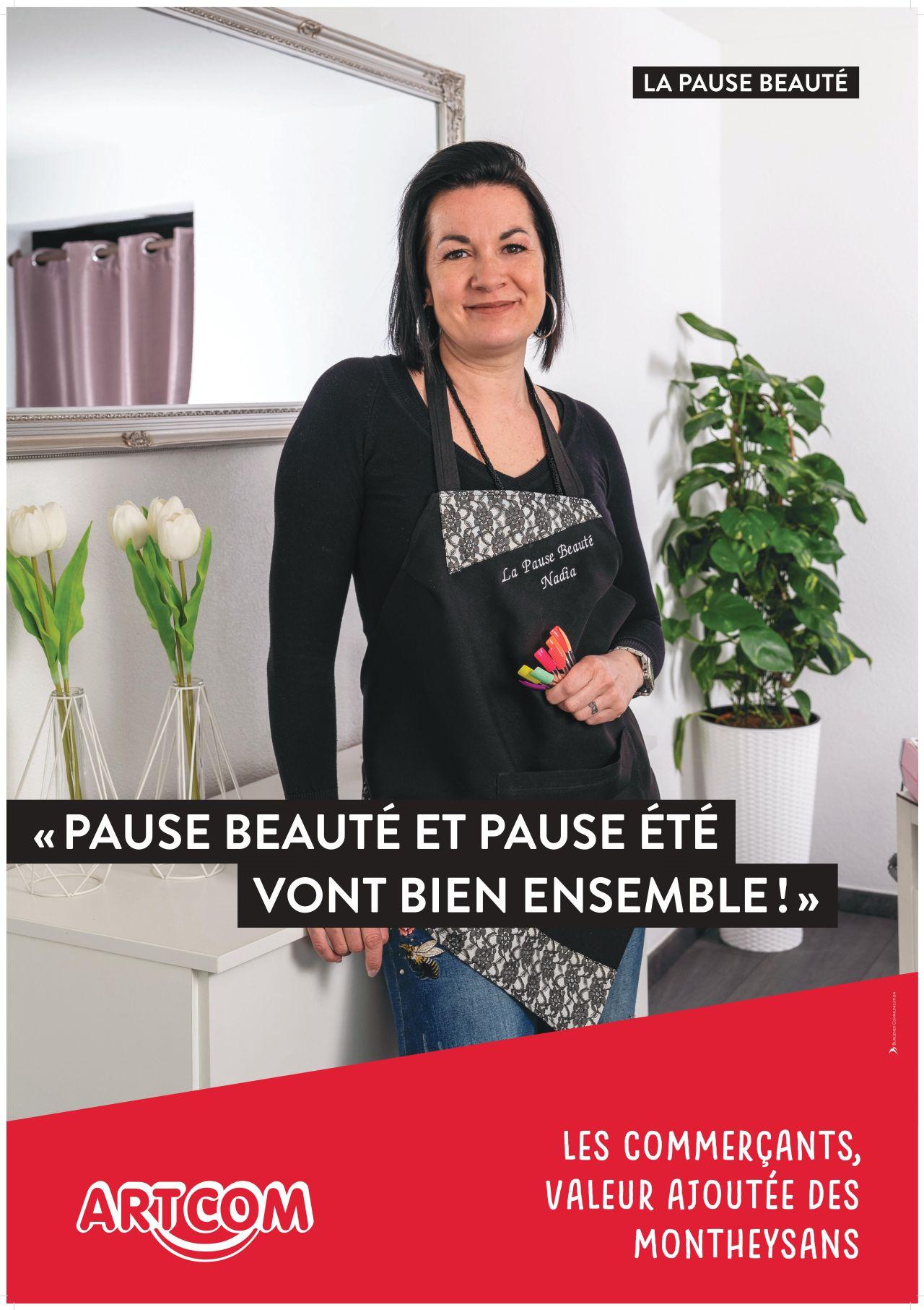 Affiche Pause Beauté