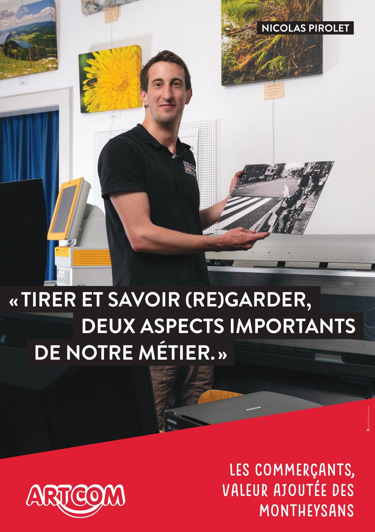 Affiche Nicolas Pirolet