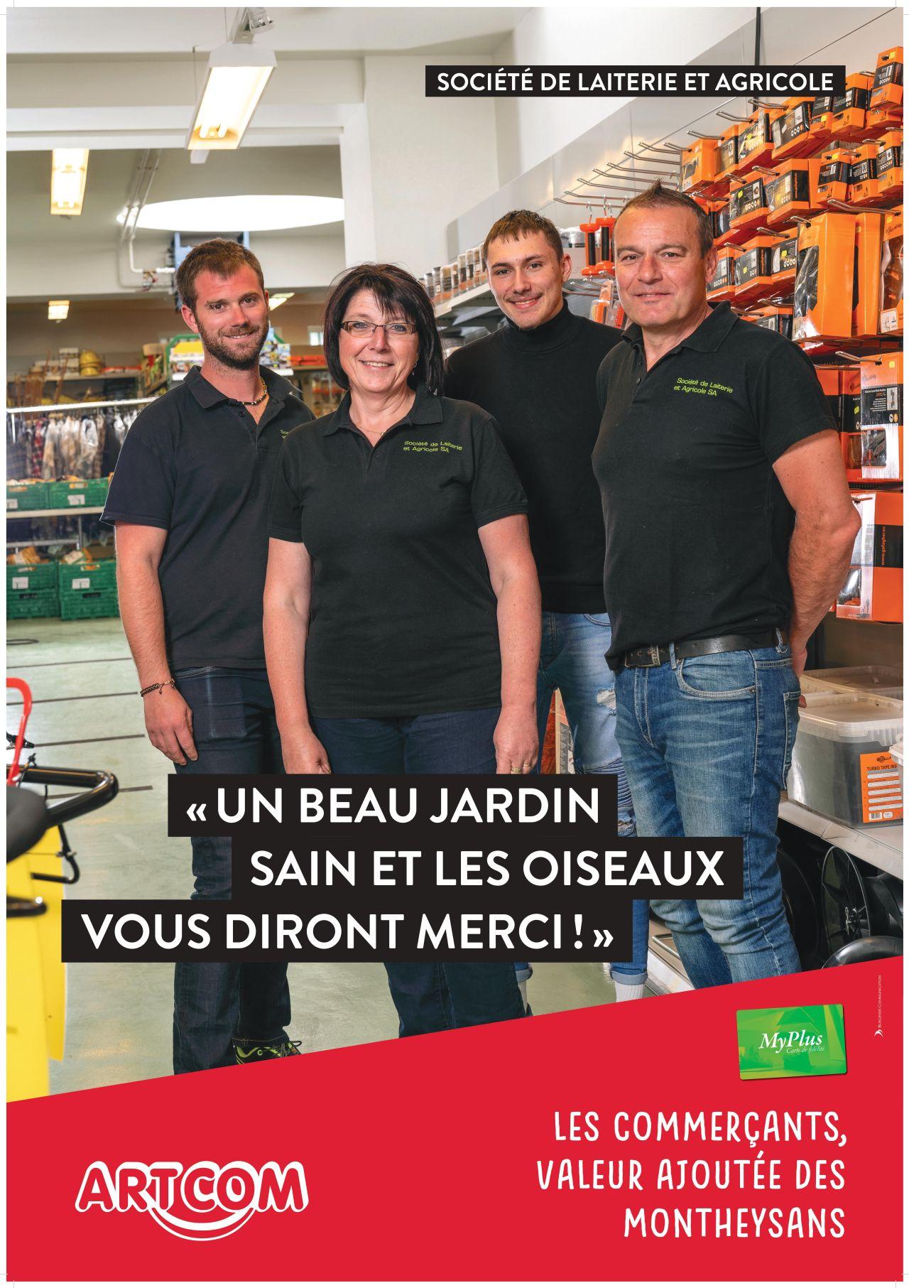 Affiche Société la laiterie et agricole