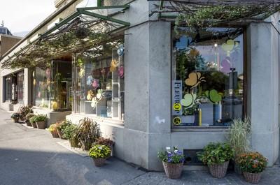 les vitrines Rithner fleurs