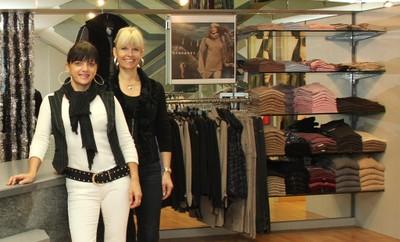 Christiane et Marianne sont à votre service à la Boutique Fémina Mode à Monthey.