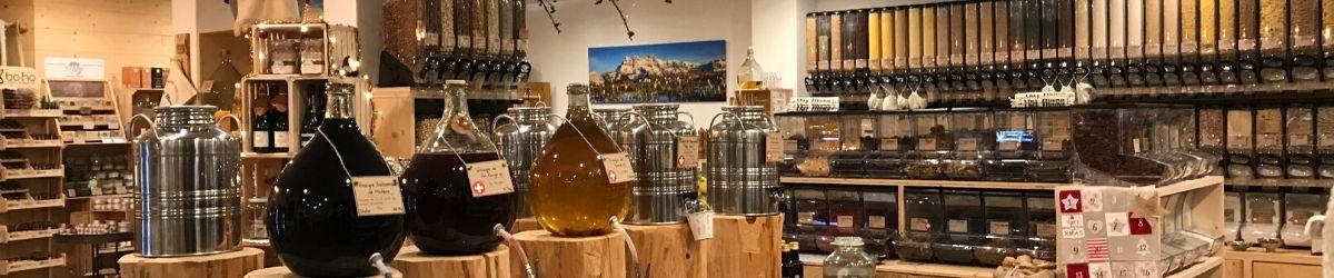 panorama de la boutique Bio-vrac
