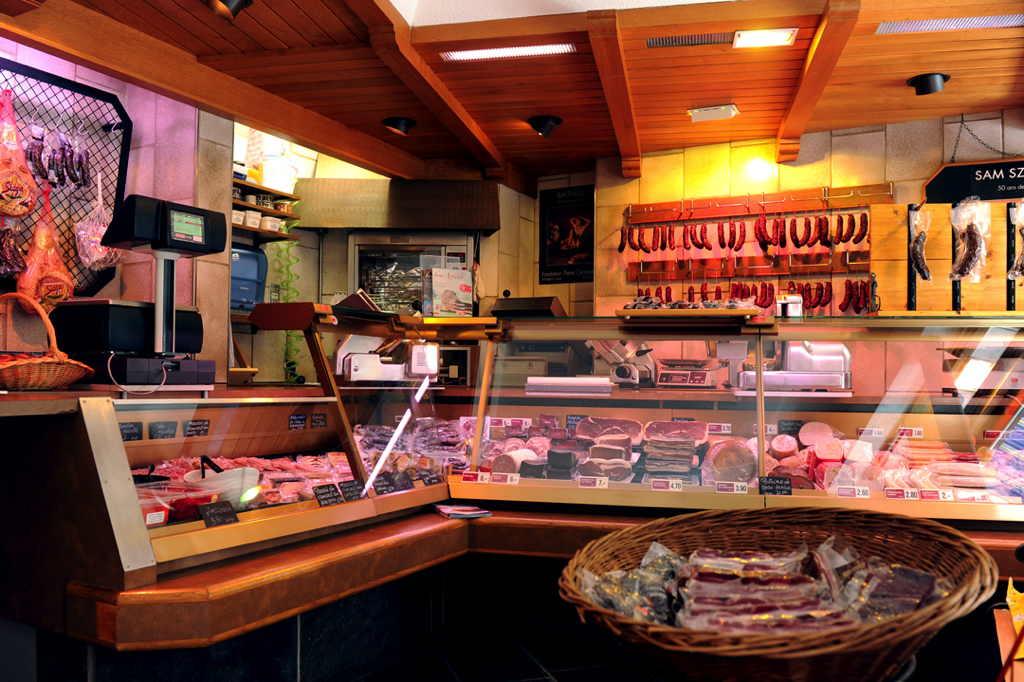 intérieur de la Boucherie Eddy