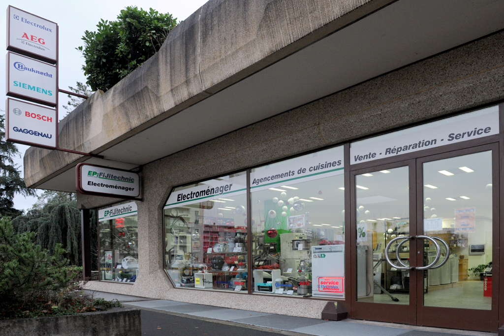 Le magasin d'électroménager EP:FiJitechnic à Monthey