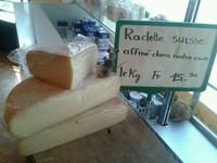 Fromages à raclette de la région d'Appenzell