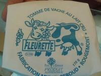 Tomme au lait cru spécialité de la Gruyère