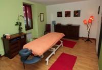 Salle de massage chez Luminescence à Monthey