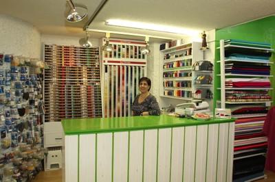 Sara Ribeiro de la boutique Magique Couture à Monthey