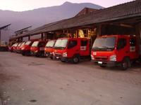 Les camions chez Multone Construction