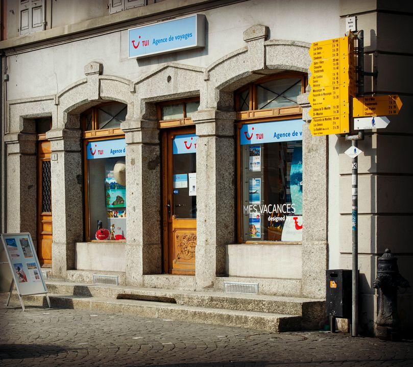 Tui agence de voyages artcom monthey for Agence de decoration